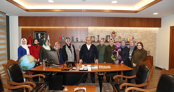 Uluslararası Fatıma Derneği'nden Başkan Hasan Can'a Ziyaret