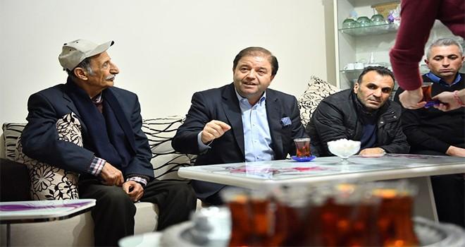 Başkan Kılıç'tan Başıbüyük'e taziye evi ve spor salonu müjdesi