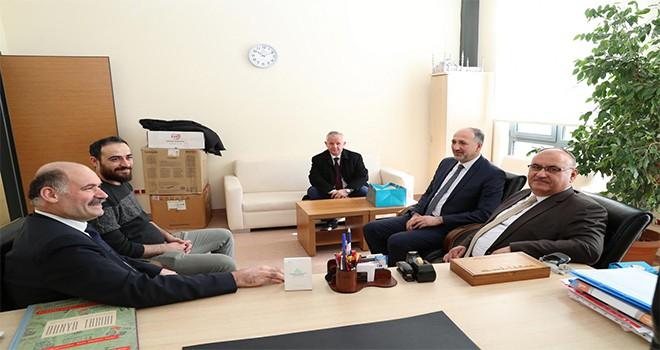 Başkan Hasan Can'dan Medeniyet Üniversitesi Siyasal Bilgiler Fakültesi Dekanı Prof. Dr. Ahmet Kavas'a Ziyaret