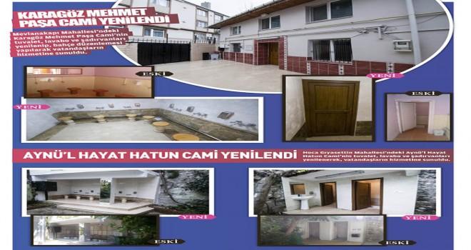 Karagöz Mehmet Paşa Cami ve Aynü'l Hayat Hatun Cami Yenilendi