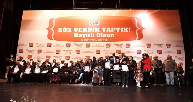 Tapular Kılıçdaroğlu'ndan