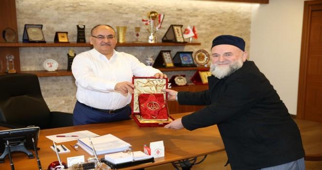 Ümraniye Hazret-i Yuşa Derneği'nden Başkan Hasan Can'a Ziyaret