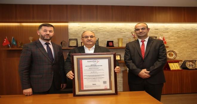"""Ümraniye Belediyesi, """"ISO 27001:2013 Bilgi Güvenliği Yönetim Sistemi Sertifikası""""nı Aldı"""