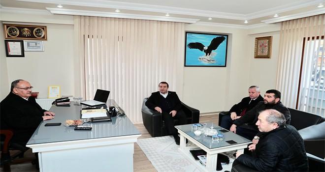 Başkan Hasan Can'dan AK Parti Ümraniye İlçe Yönetim Kurulu Üyesi Serdar Zirekoğlu'na Ziyaret