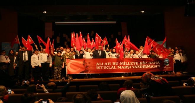 Simurg, Mehmet Akif Ersoy'u unutmadı