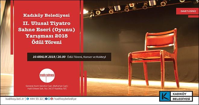 Ulusal Tiyatro Oyunu Ödülleri Sahiplerini Buluyor