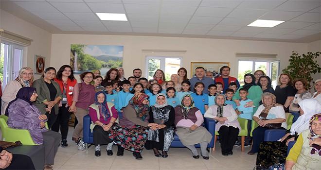 Dr. Fatma Yazıcı, Büyüklerimizin Haftasını Çocuklarla Birlikte Kutladı