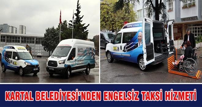 Kartal Belediyesi'nden Engelsiz Taksi Hizmeti