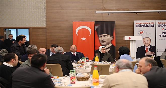 Başkan Hasan Can Meclis Üyeleri Aday Tanıtım Toplantısına Katıldı
