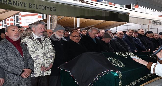 Başkan Hasan Can, Ümraniyeli Ali Rıza Alkılıç'ın Eşinin Cenazesine Katıldı