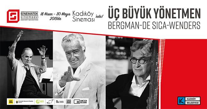 Sinematek / Sinema Evi Ingmar Bergman, Vittorio De Sica ve Wim Wenders'in Filmlerini Kadıköylülerle Buluşturuyor