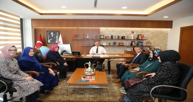 Fatih İmam Hatip Ortaokulu'ndan Başkan Hasan Can'a Ziyaret