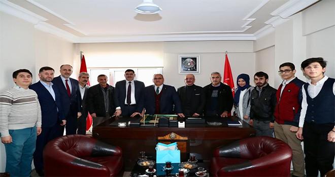 Başkan Hasan Can, Büyük Birlik Partisi Ümraniye İlçe Başkanı Cemal Sorgucu'yu Ziyaret Etti
