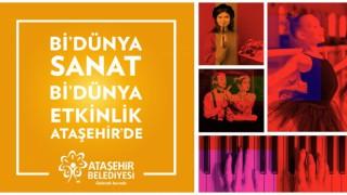 Ataşehir'de sanat eğitimi alan gençler eğitimlerini online sergileyecek