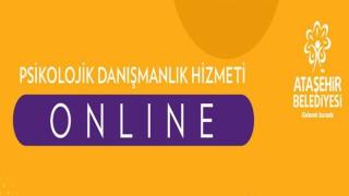 Ataşehirli öğrencilere yönelik online psikolojik danışmanlık desteği sürüyor