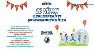 """KARTAL BELEDİYESİ'NDEN """"23 NİSAN""""IN RUHUNA YAKIŞIR KUTLAMA"""