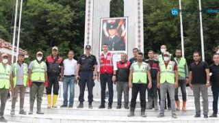 Kartal Belediye Başkanı Gökhan Yüksel, Afet Bölgesi Bozkurt'ta