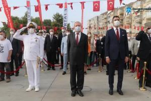 Büyük Zafer'in 99'uncu Yılı Kutlamaları, Kartal'da Ata'ya Çelenk Sunulması ile Başladı