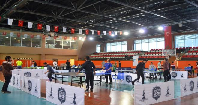 Genç Gelecek Masa Tenisi Turnuvası Heyecanı